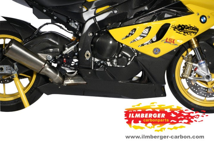 ILMBERGER Carbon Fiber Lower Fairing / Belly Pan 2009-2014 BMW S1000RR