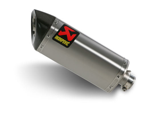 Akrapovic Slip-On Line (Titanium) EC Type Approval Exhaust System 2008-2009 Yamaha YZF R6
