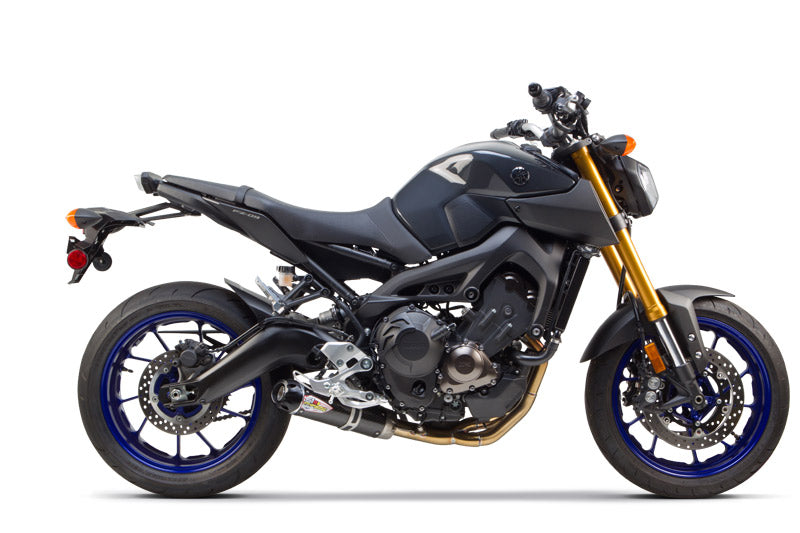 Two Brothers S1R Carbon Full Exhaust System for 2014-2017 Yamaha FZ-09 / MT-09