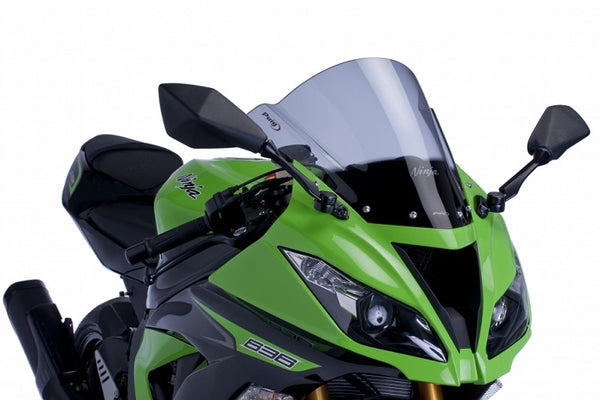 Puig Z Racing Windscreen for 2013-2015 Kawasaki ZX6R 636