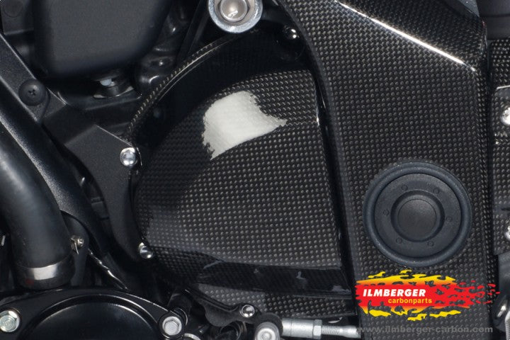 ILMBERGER Carbon Fiber Front Sprocket Cover for 2011-2012 Triumph Speed Triple / R 1050