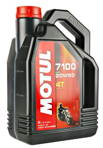 Motul 7100 4T 100% Synthetic Motor Oil | 4L