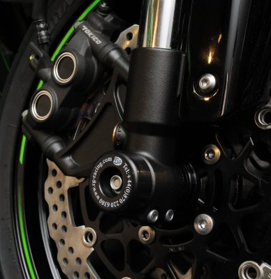 R&G Racing Front Fork / Axle Sliders for 2008-2013 Kawasaki ZX10R