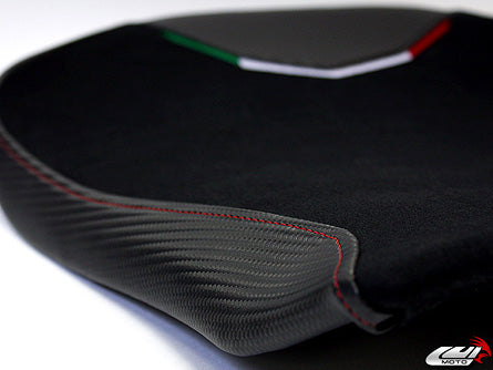 LuiMoto Team Italia Suede Leather Seat Cover 2010-2015 MV Agusta F4