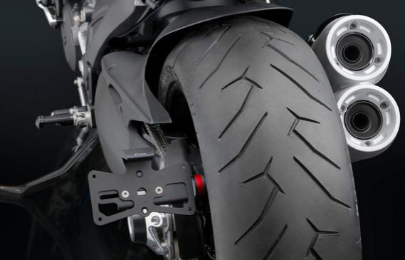 Rizoma Side Mount License Plate Support 2010-2015 Ducati Diavel
