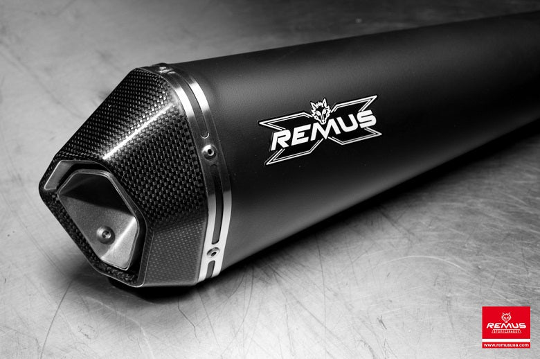 Remus HyperCone Slip-on Exhaust System for 2013-2017 Triumph Daytona 675/R