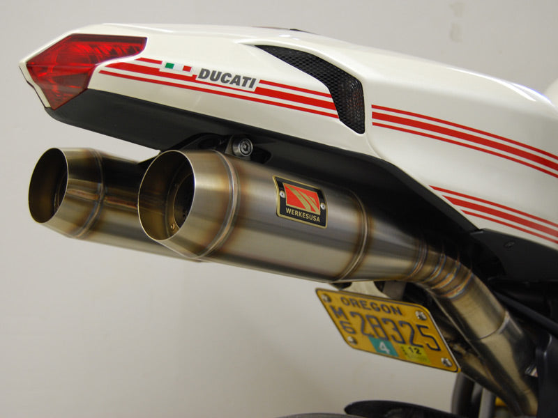 Competition Werkes GP Stainless Steel Slip-on Exhaust Ducati 848/1098/1198