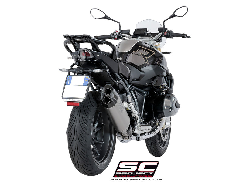 SC Project Adventure Slip-On Exhaust 2017-2018 BMW R1200R/RS