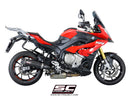 SC Project Oval Muffler (Low Position) Slip-on Exhaust 2017-2019 BMW S1000XR