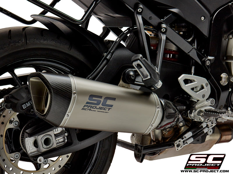 SC Project SC1-R Muffler (Low Position) Slip-on Exhaust 2017-2019 BMW S1000XR