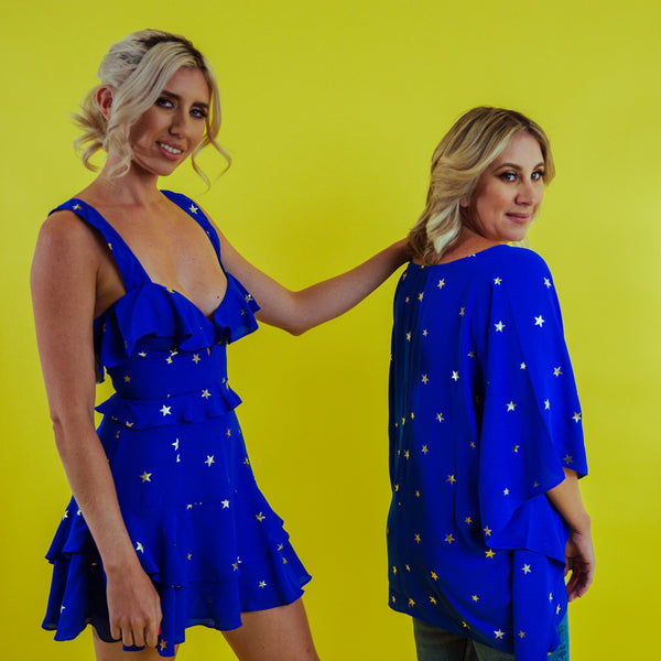 Cobalt Stars Dress