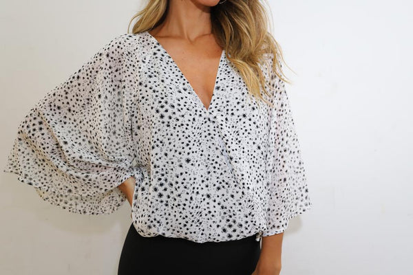 Dalmation Print Bodysuit