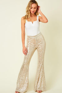 Sequins Dress Pants