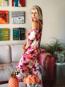 Could Shoulder Maxi Dress