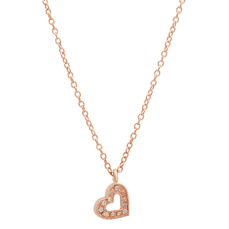 Baby Heart Gold Dangle Ring