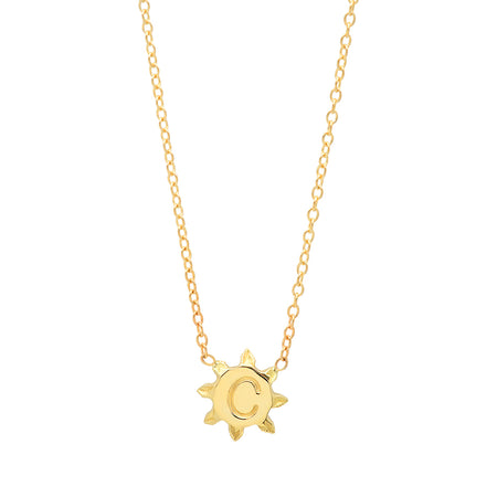 Chic Hearts Gold Station Necklace