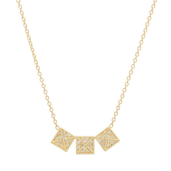 Dazzling Moment Diamond Necklace