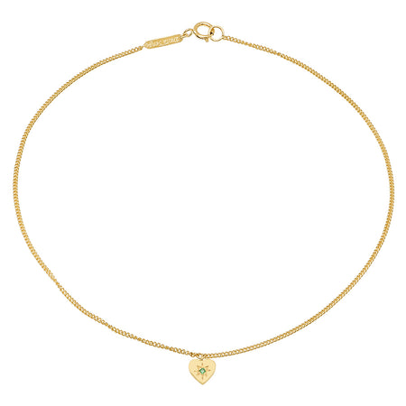 Mini Start Birthstone Anklet