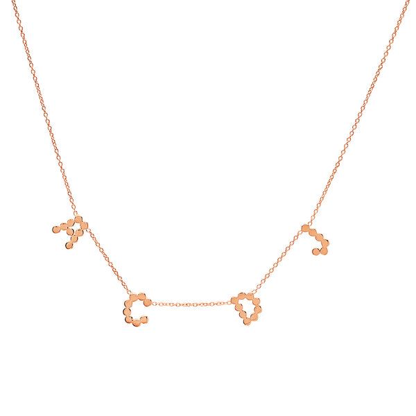 DSJ's Signature Multi Gold Initial Necklace