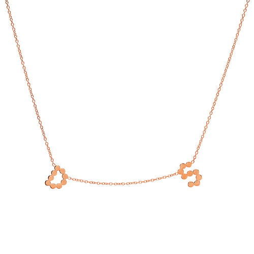 DSJ's Signature Gold Multi Initial Necklace