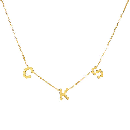 DSJ's Signature Meaningful MOM Diamond Necklace