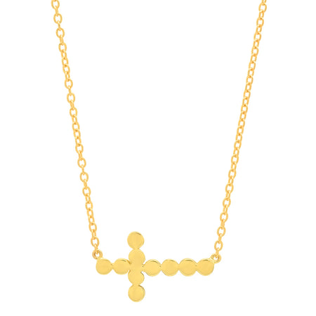 DSJ's Signature Meaningful MOM Gold Initial Necklace