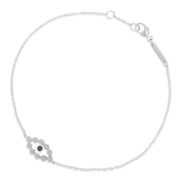 Evil Eye Black Diamond Bracelet
