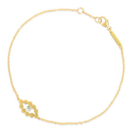 DSJ's Signature Meaningful Birthstone & Initial Bracelet