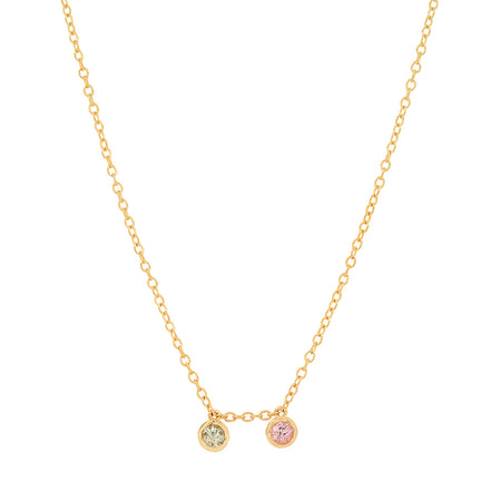 """6 Precious Birthstones"" Necklace"