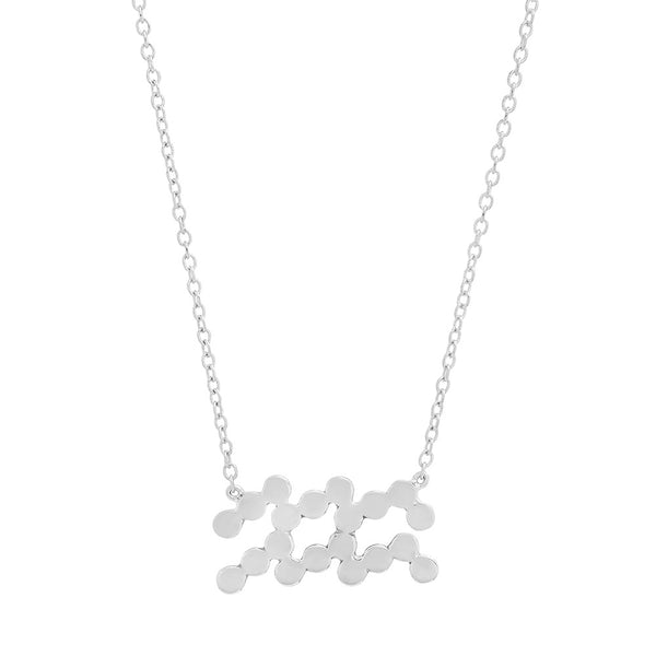 Dana Seng Signature Aquarius Zodiac Necklace