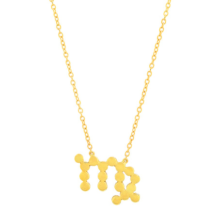 "DSJ's Signature Meaningful Gold ""LOVE"" Necklace"