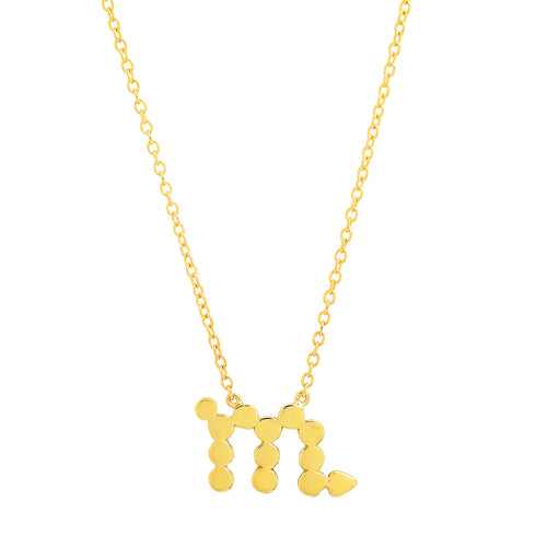 Dana Seng Signature Scorpio Zodiac Necklace