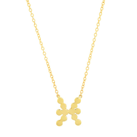 DSJ's Signature Meaningful MAMA Gold Initial Necklace