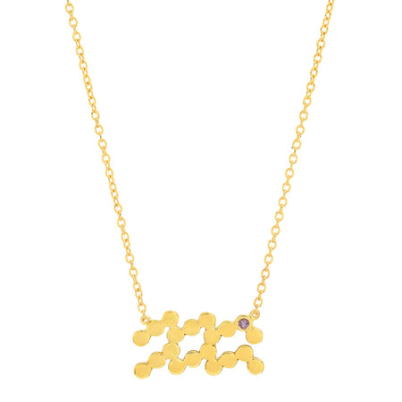 DSJ's Signature Meaningful LOVE Gold Initial Necklace
