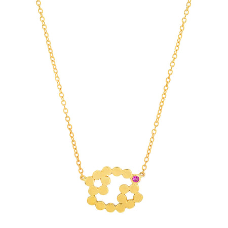 """9 Precious Birthstones"" Necklace"