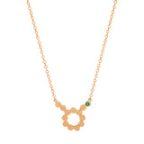 Dana Seng Signature Taurus Zodiac With Precious Birthstone Necklace