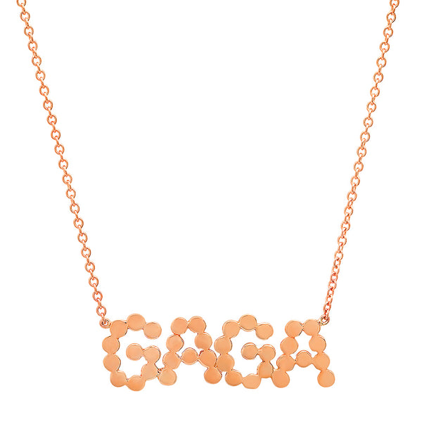 DSJ's Signature Meaningful Gold GAGA Necklace