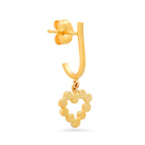 DSJ's Signature Meaningful Gold Initial Dangle Earring