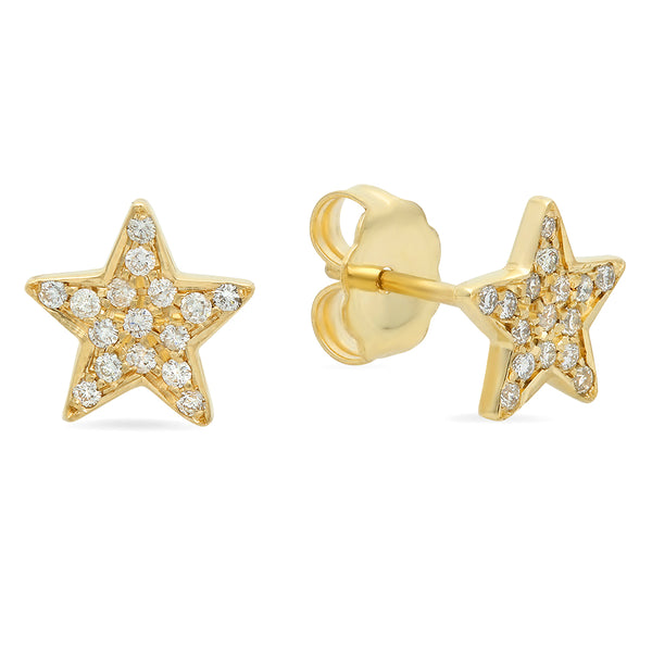 The Lucky Star Diamond Stud Earrings