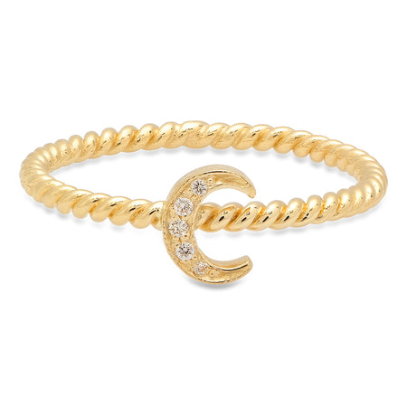 Precious Baby Snake Diamond Ring