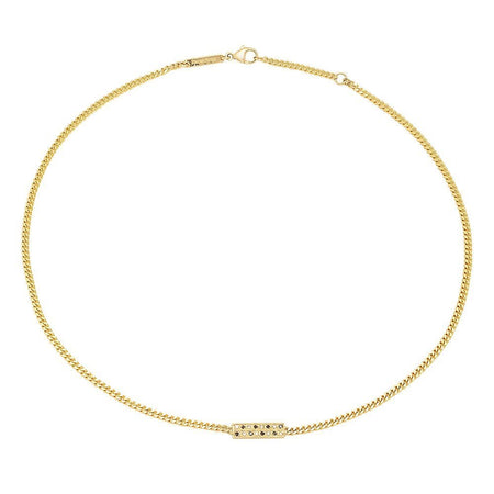 Quinary Rising Stars Diamond Choker Necklace