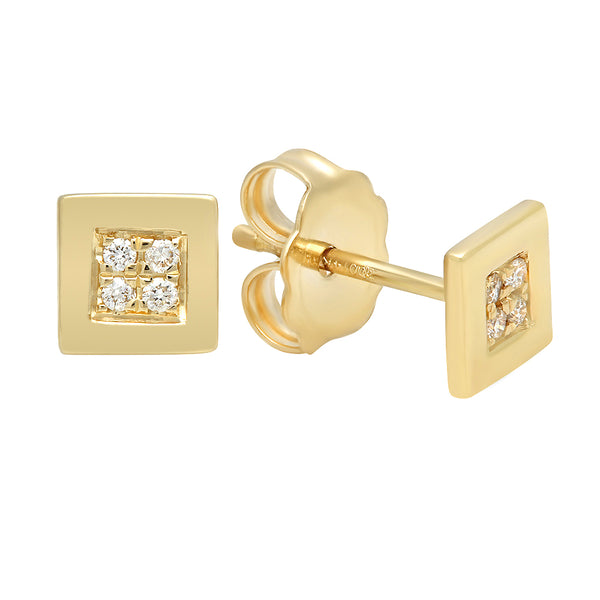Sensational Diamond Stud Earrings