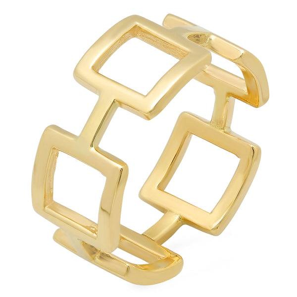 Statement Yellow Gold Ring