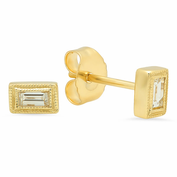 The Exclusionary Diamond Stud Earrings