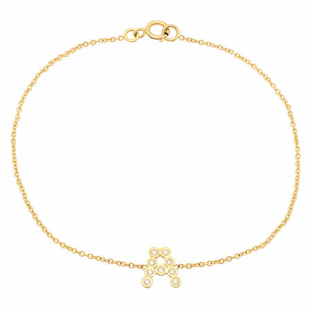 DSJ's Signature Meaningful Gold Initial Bracelet