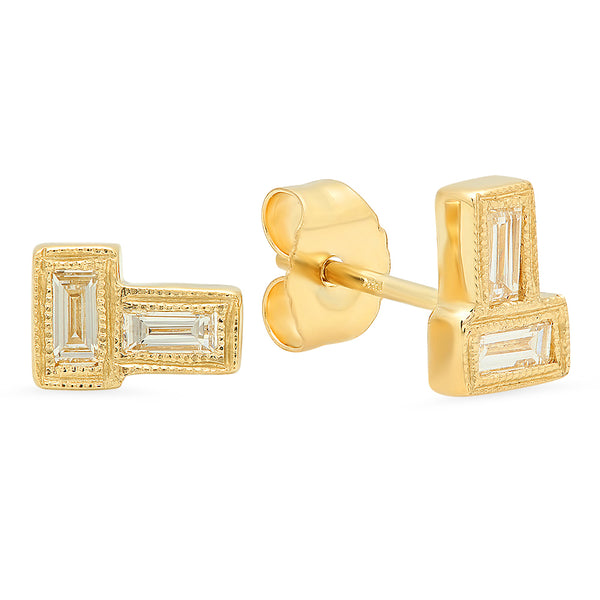 The Forevermore Diamond Stud Earrings