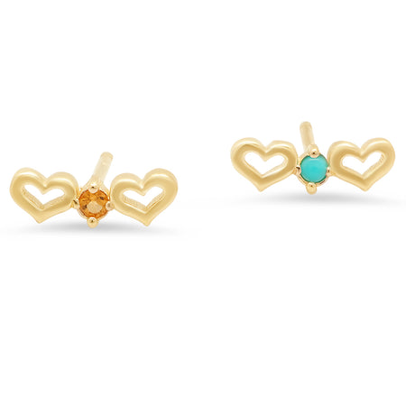 Baby Star Diamond Stud Earrings