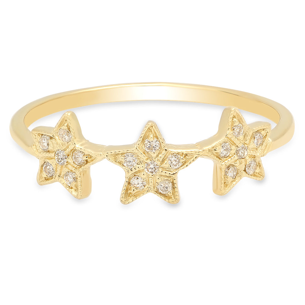 jewelry diamond products collections star ring rings collection stars precious dana seng