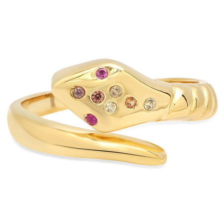 Precious Stars Ruby Diamond Ring