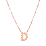 DSJ's Signature Gold Initial Necklace